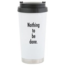 Godot Nothing Travel Mug