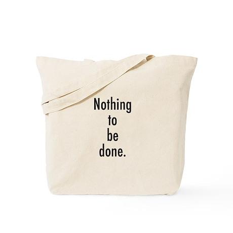Godot Nothing Tote Bag