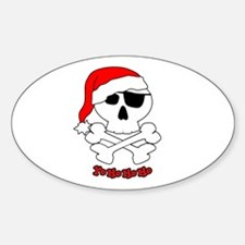 Yo Ho Ho Ho Oval Decal