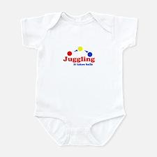 Juggling Takes Balls Infant Bodysuit