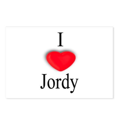 Jordy Postcards (Package of 8)