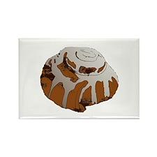 Giant Cinnamon Bun Rectangle Magnet
