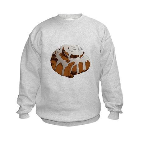 Giant Cinnamon Bun Kids Sweatshirt