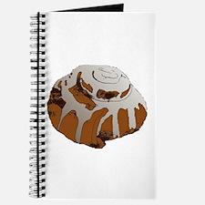 Giant Cinnamon Bun Journal