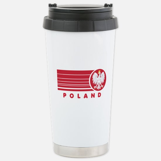 Poland Sunset Stainless Steel Travel Mug