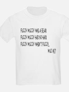 Fuzzy Wuzzy Kids T-Shirt