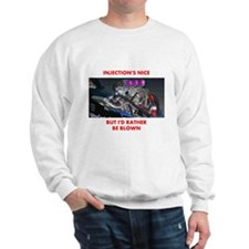 TOP FUEL BLOWN RACE CAR Sweatshirt