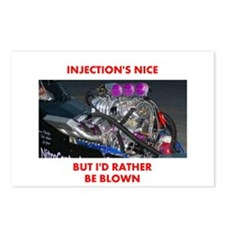 TOP FUEL BLOWN RACE CAR Postcards (Package of 8)