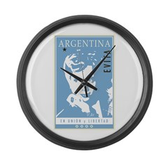 Argentina Large Wall Clock