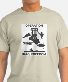 2-506th Infantry Iraqi Freedom T-Shirt