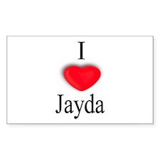 Jayda Rectangle Decal