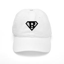 Super Black B Baseball Cap