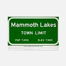 Mammoth Lakes Rectangle Magnet