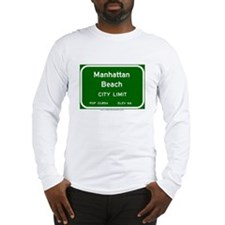 Manhattan Beach Long Sleeve T-Shirt