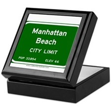 Manhattan Beach Keepsake Box