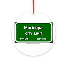Maricopa Ornament (Round)