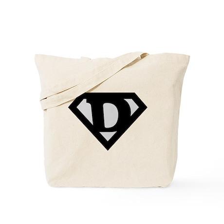Super Black D Tote Bag