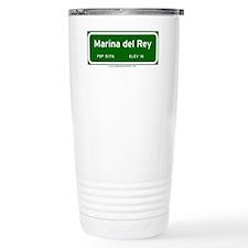 Marina del Rey Travel Mug