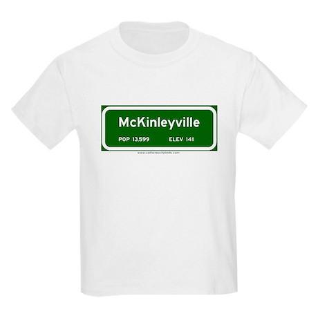 McKinleyville Kids Light T-Shirt