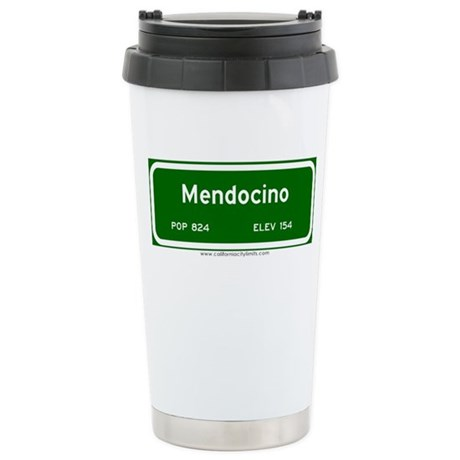 Mendocino Stainless Steel Travel Mug