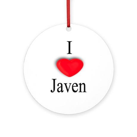 Javen Ornament (Round)