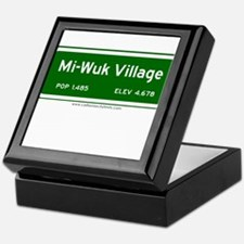 Mi-Wuk Village Keepsake Box
