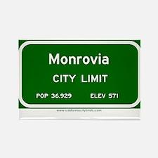 Monrovia Rectangle Magnet