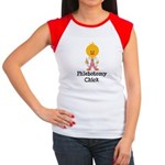 Phlebotomy Chick Women's Cap Sleeve T-Shirt