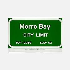 Morro Bay Rectangle Magnet