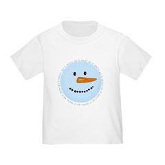 Blue Snowman T