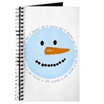 Blue Snowman Journal