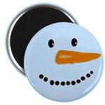 Blue Snowman Magnet