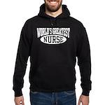 World's Greatest Nurse Hoodie (dark)
