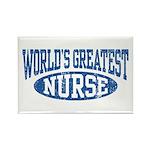 World's Greatest Nurse Rectangle Magnet