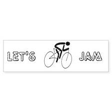 Let's Jam Bumper Bumper Sticker