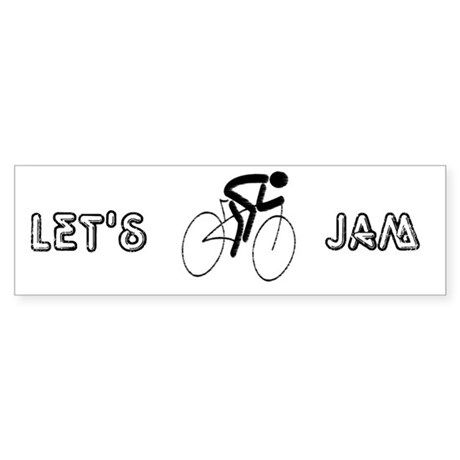 Let's Jam Bumper Sticker