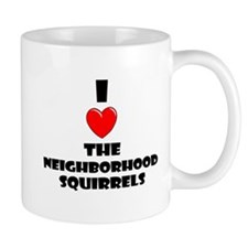 Neighborhood Squirrels Mug