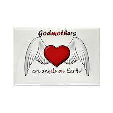 Angel Godmother Rectangle Magnet