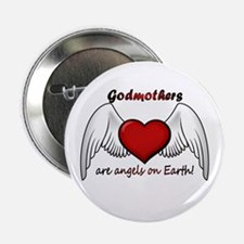 "Angel Godmother 2.25"" Button"