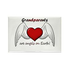 Angel Grandparent Rectangle Magnet