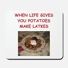 potato pancakes Mousepad