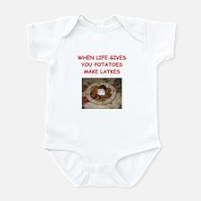potato pancakes Infant Bodysuit