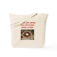 potato pancakes Tote Bag