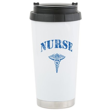 Nurse Stainless Steel Travel Mug