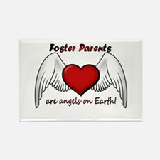 Angel Foster Rectangle Magnet (10 pack)