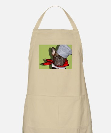 The Frenchie Chef Apron