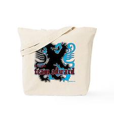 Team Edward Edwardian Crest Tote Bag