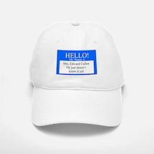 Hello Mrs. Edward Cullen Baseball Baseball Cap