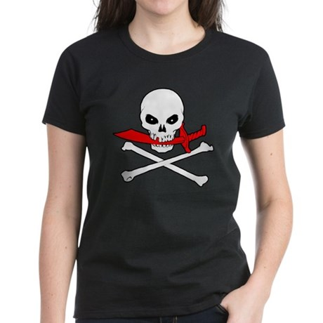 Jolly Roger (Cutlass) Women's Dark T-Shirt