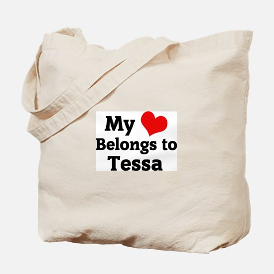 My Heart: Tessa Tote Bag